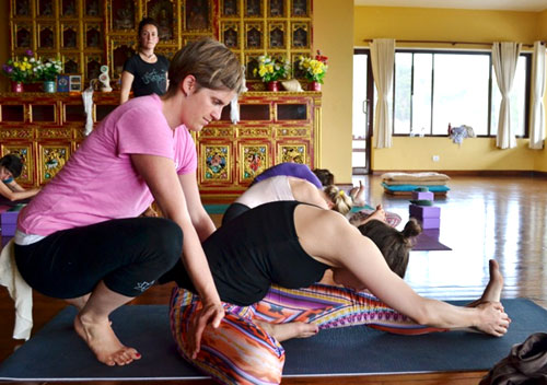 Ashtanga & Vinyasa Yoga teacher training in Nepal
