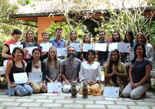 Yoga Teacher Training (Advanved 500hrs) - 2016/2017 - Chiang Mai, Thailand