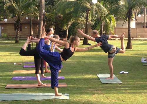 25 Days Yoga Teacher Training India Goa