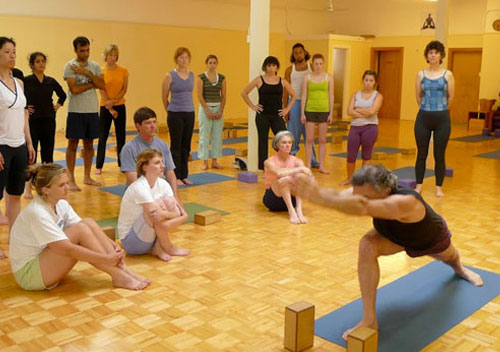 200HR Alignment Yoga Teacher Training in Goa India with Richard Schachtel Certified Iyengar Yoga Teacher