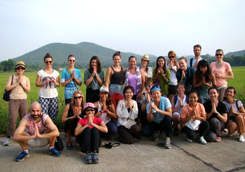 Yoga Teacher Training Course 200 hrs ( Yoga Alliance) - Winter 2013 - Chaing Mai, Thailand, ChiangMai