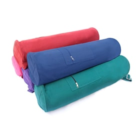 Cotton Yoga Bag Zippered...