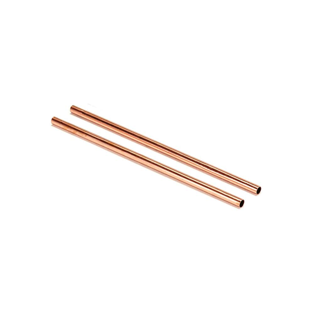 Copper Drinking Straws Set of 2