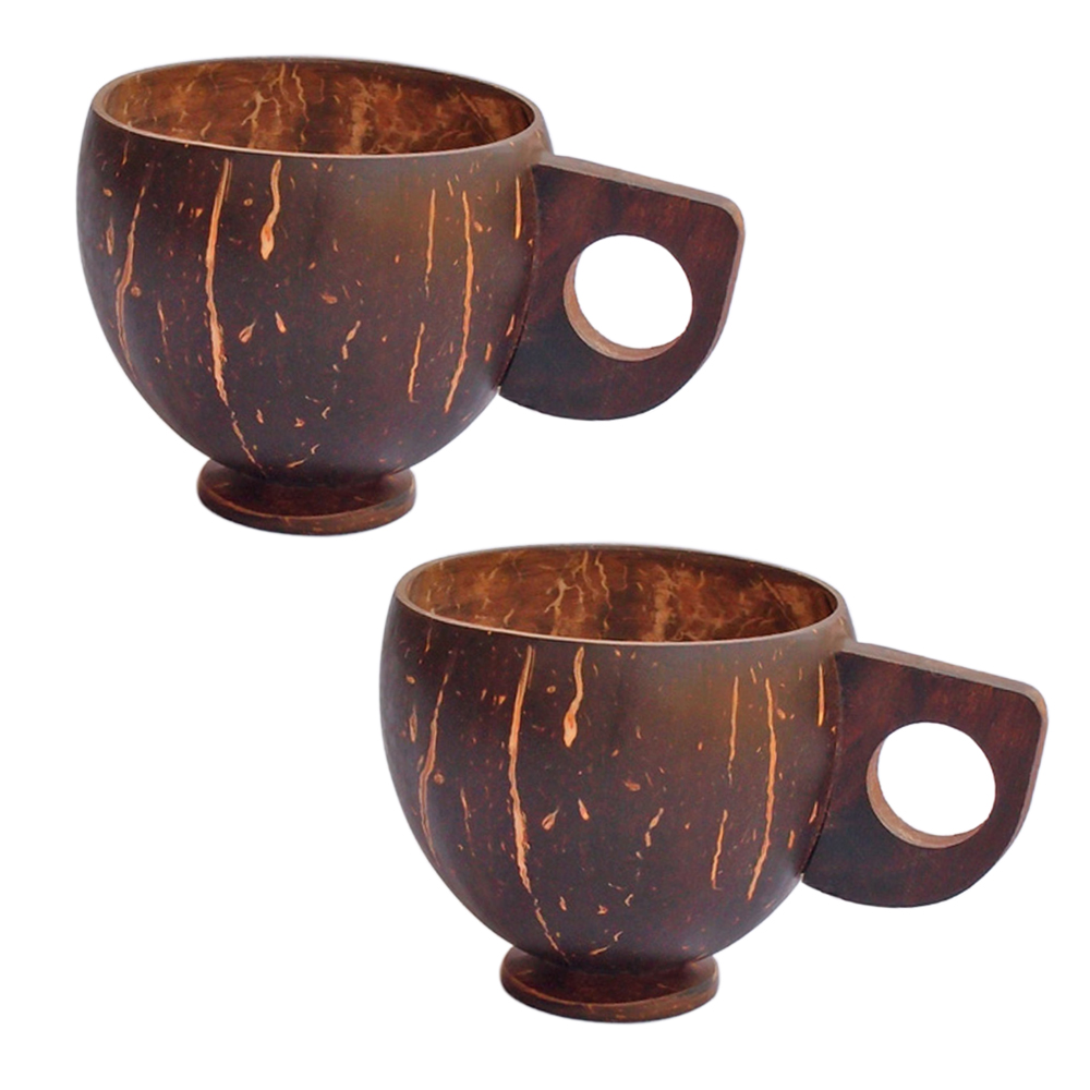 Handmade Coconut Shell Cups