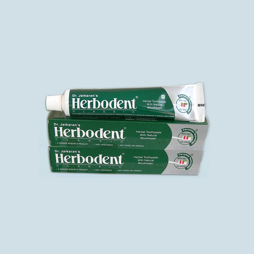 3 Herbodent Herbal Toothpaste + 1 Free