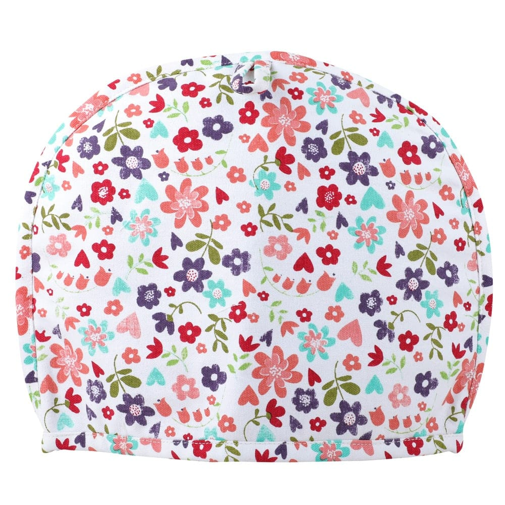 Insulating Tea cosy with floral print