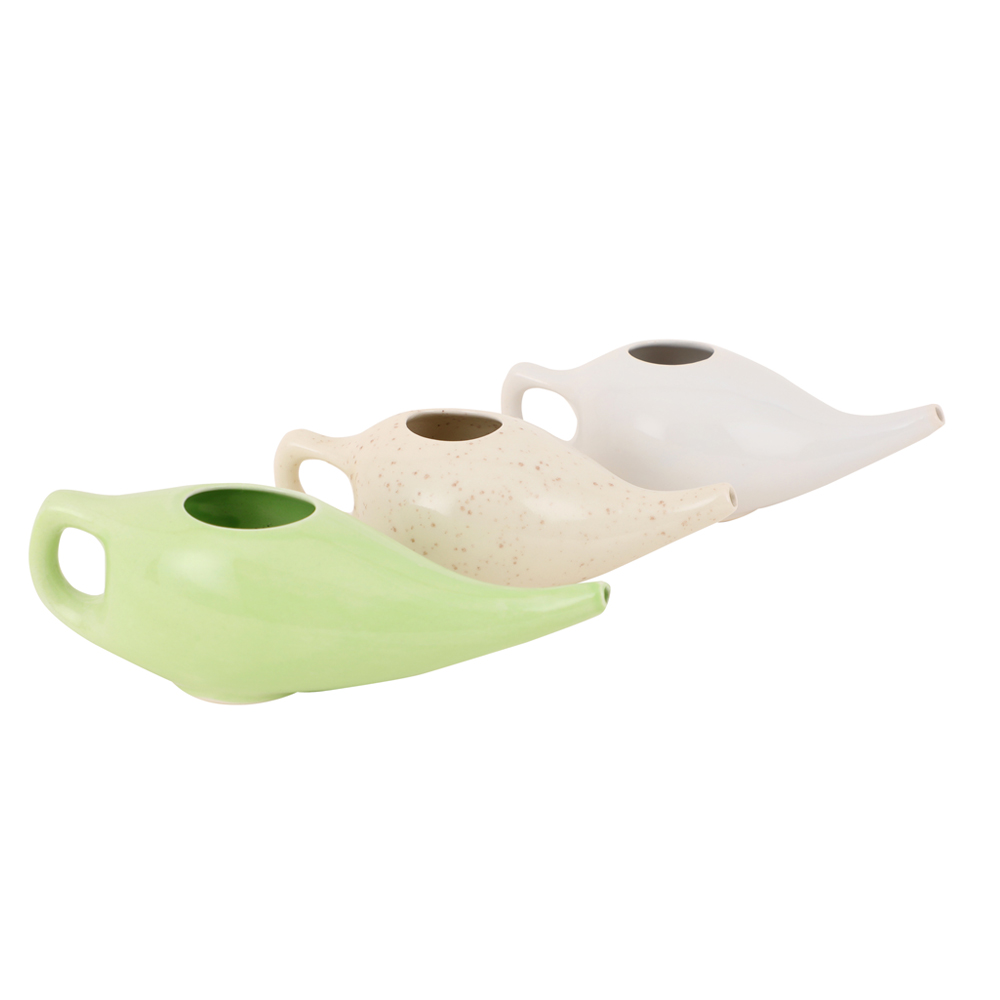 Leak Proof Ceramic Neti Pot