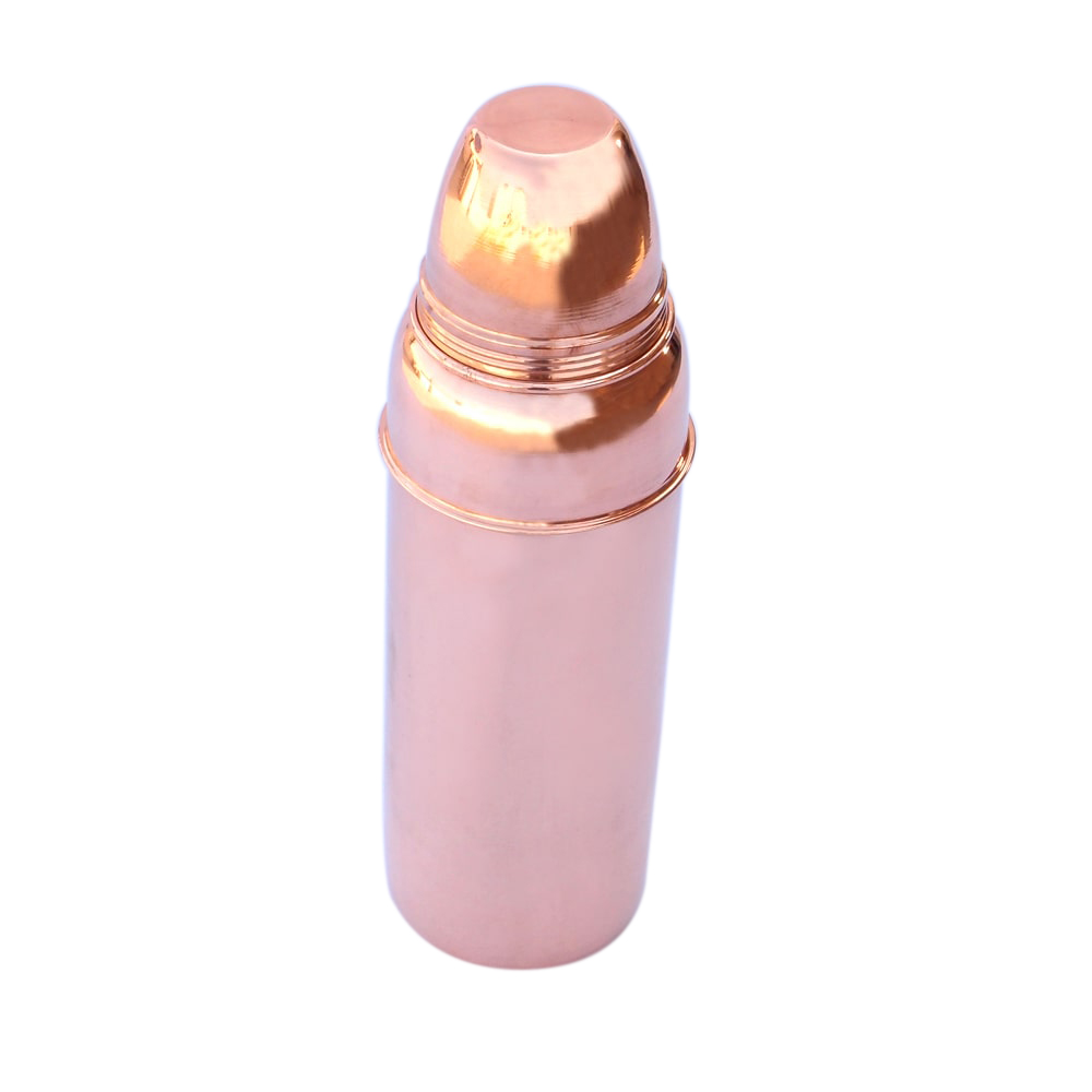 Pure Copper Bottle With Cap