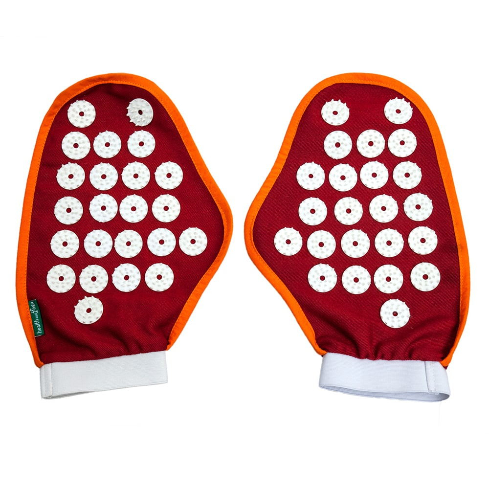Spike Acupressure Massage Gloves