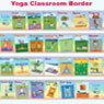 Learn With Yoga Classroom Border