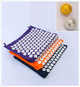 Spike Acupressure Mat + Spike Acupressure Ball