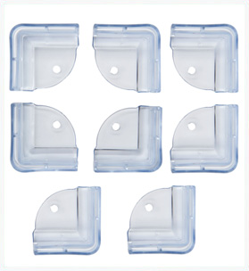 L-shaped Corner Edge Guard 8 pcs set