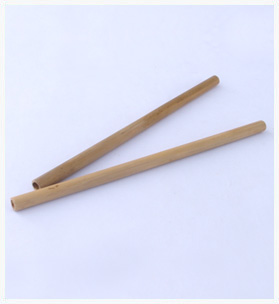 Handcrafted Bamboo Straws - Set of 2