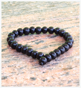 Ebony Bracelet Without Tassel