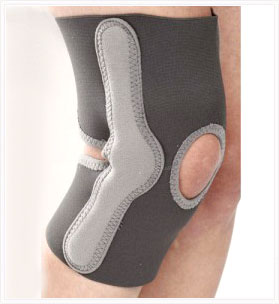 Elastic Knee Support with Side Support Splint