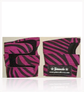 POWER WRAPS Wrist Supports - Fuschia Zebra
