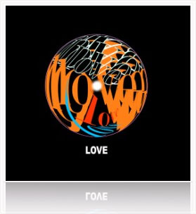 Energy Circle Poster-Love