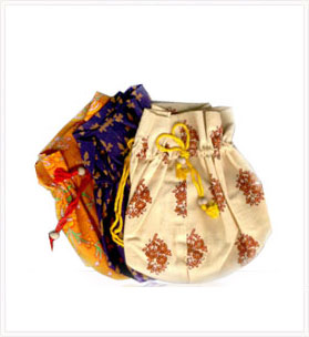 Printed Soft Cotton Mala Bag