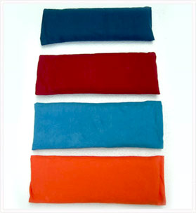 Flaxseed-Filled Eye Pillows