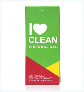 Handy Sanitary Disposable Bags - Single Pack