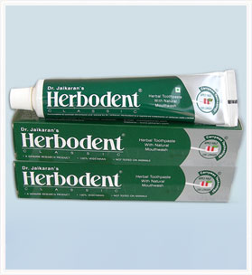 2 Herbodent Herbal Toothpaste+1 Free