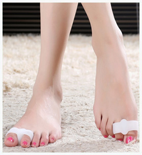 Ultra-soft Silicone Toe - Spacers (1 Pair)